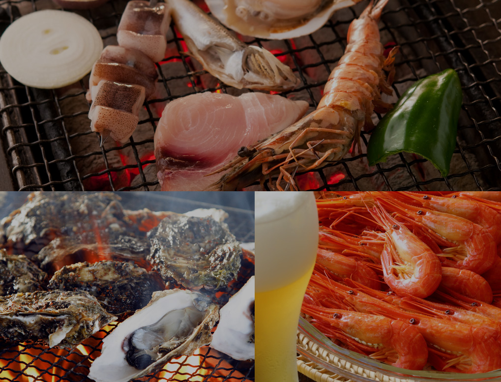 A trip to get a thorough taste of delicious seafood and sea ingredients