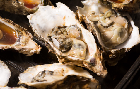 Must-eats on this route: Oysters