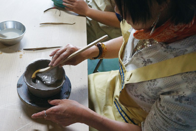 Ryuhyo Pottery Pottery-making