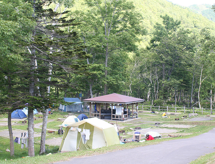 Shiretoko National Park Rausu Onsen Camping Site