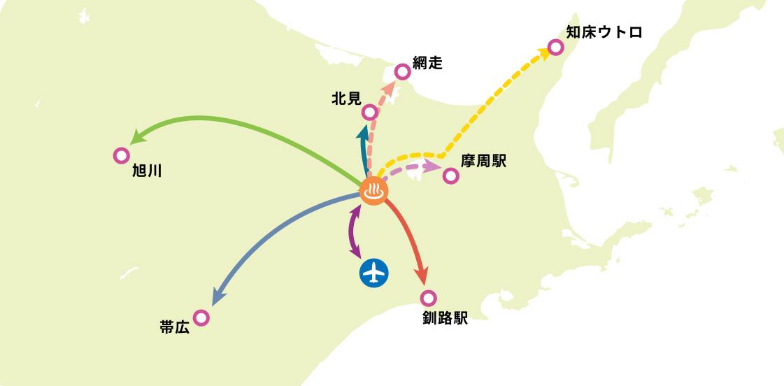 阿寒湖バスネットワーク