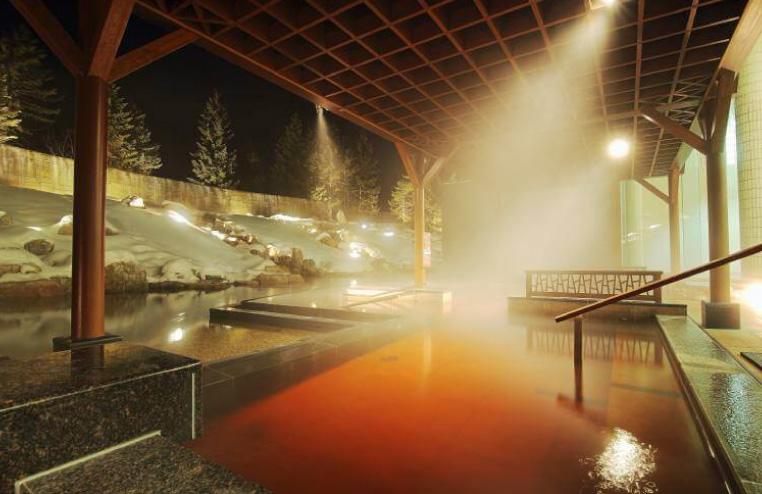 十勝川温泉のモール温泉