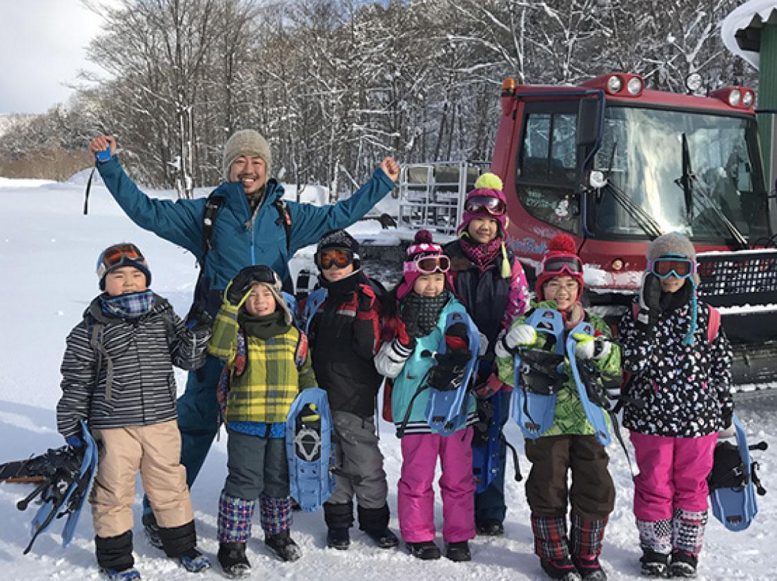 ピヤシリの森 スノーピクニック